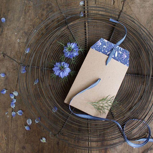 Floral wedding envelopes