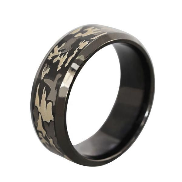 Wedding Camo Ringsarmy