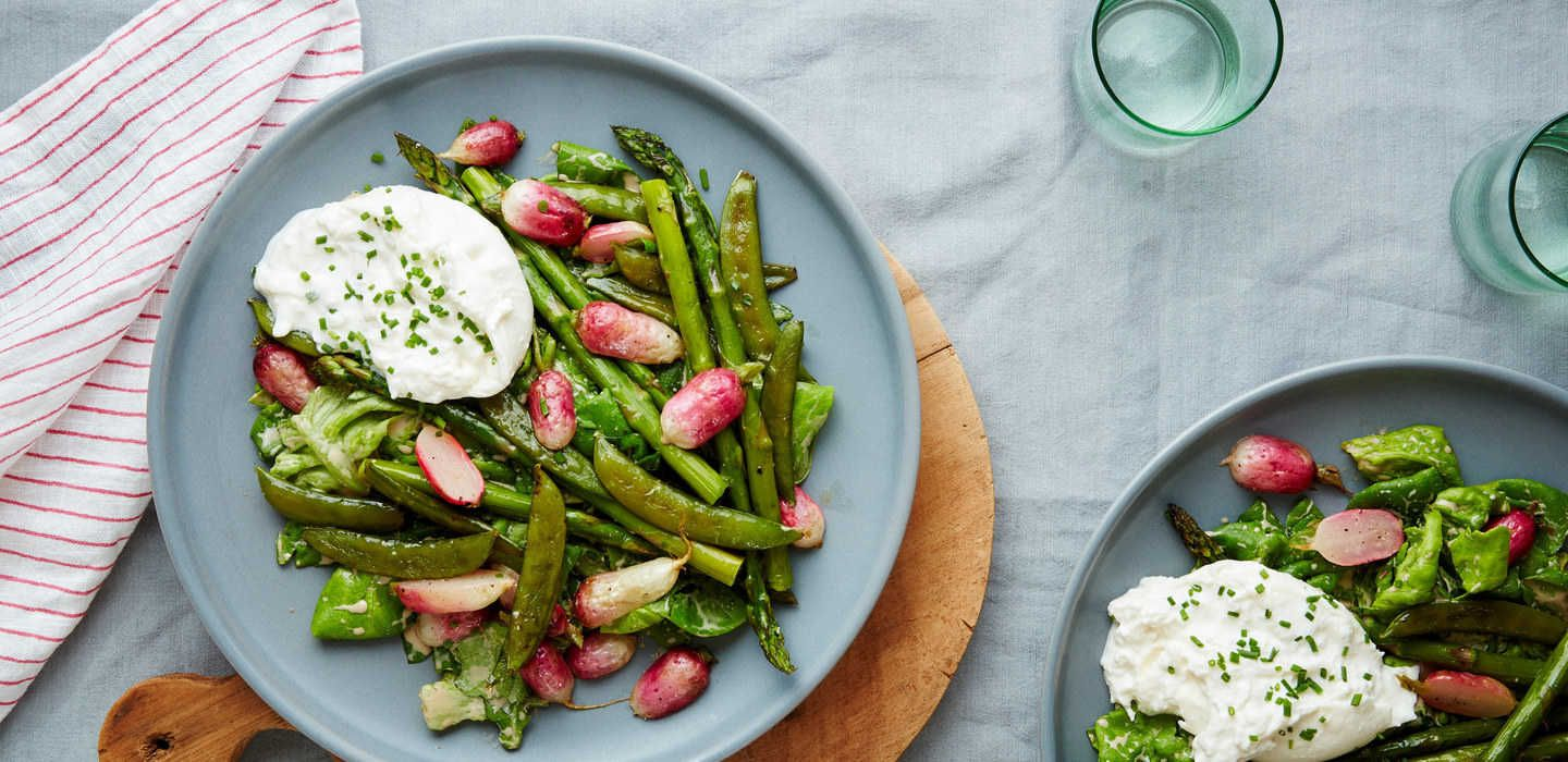 Cook more. Live better. Cooking dinner, Spring