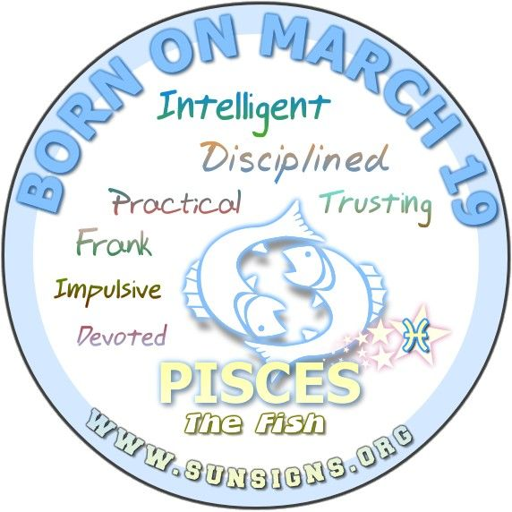 horoscope for march 19 birthday