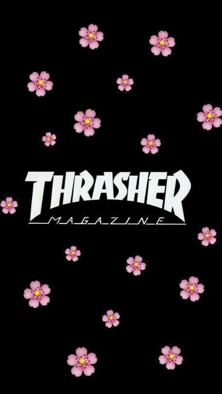 THRASHER GANNNGGG‼️‼️‼️⚠️ #aestheticwallpaperiphone THRASHER GANNNGGG‼️‼️‼️⚠️ #decembrefondecran