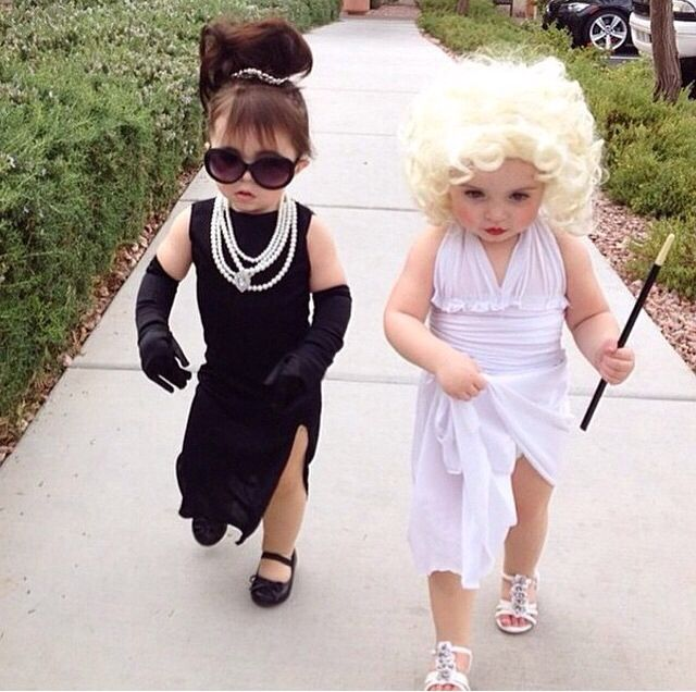 such a cute halloween costume for two little girls