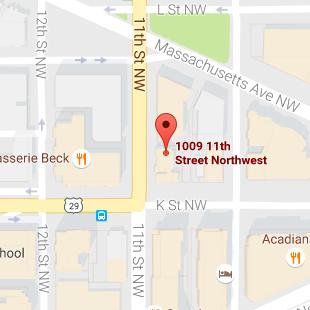 HI Washington DC Hostel Map