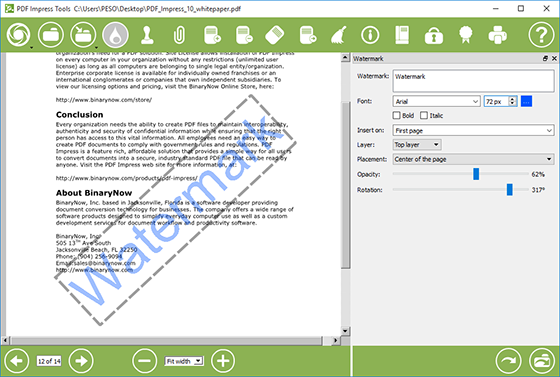How to manipulate pdf files with pdf impress stamp watermark how to edit pdf files with pdf impress using stamp watermark split delete ccuart Images