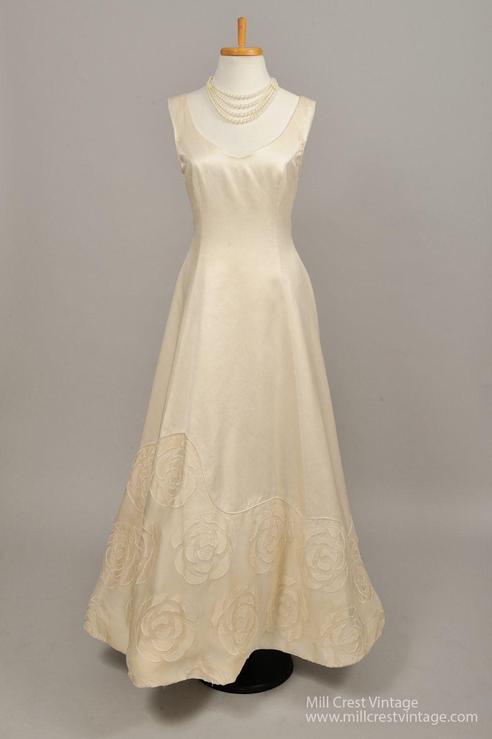 raquel couture vintage wedding gown mill crest vintage