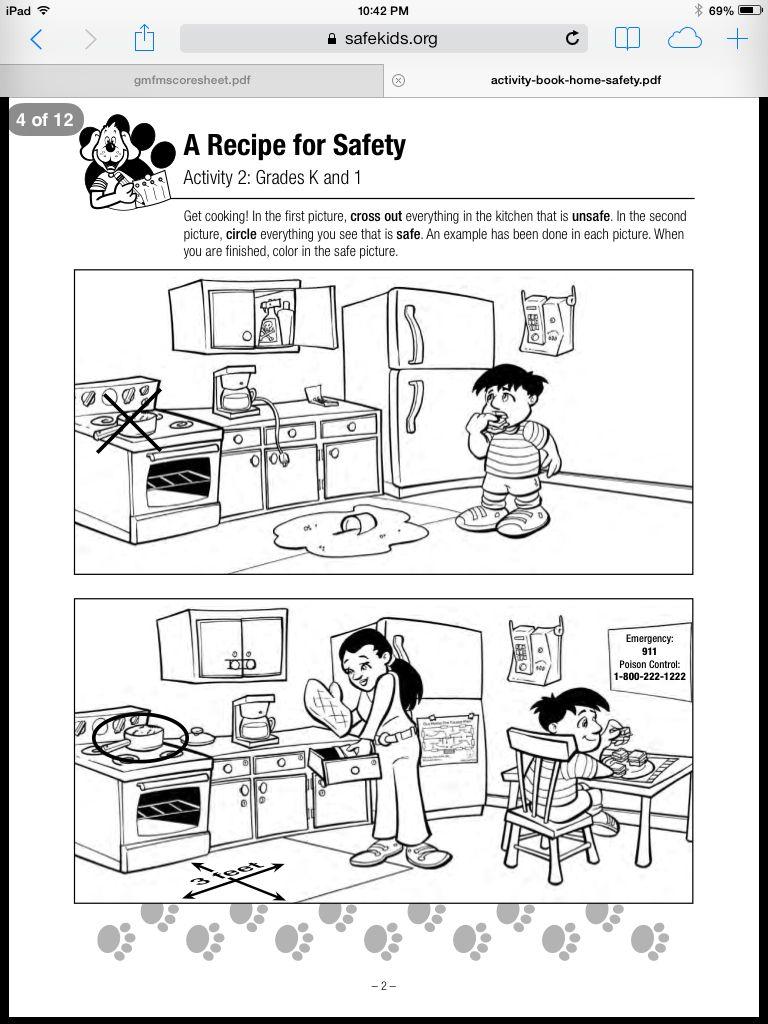 Safety Practice Worksheet 1 Phonics worksheets
