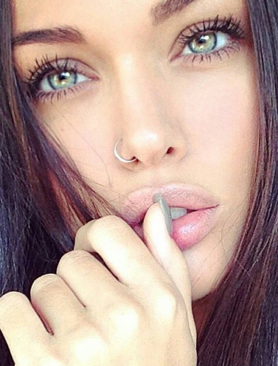 Nose piercing for big nose  Pin by Alize on Piercings  Pinterest  Danish and Makeup