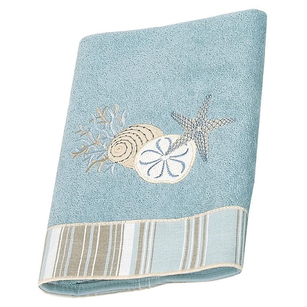 Avanti By The Sea Washcloth Mineral Blue Diy bathroom