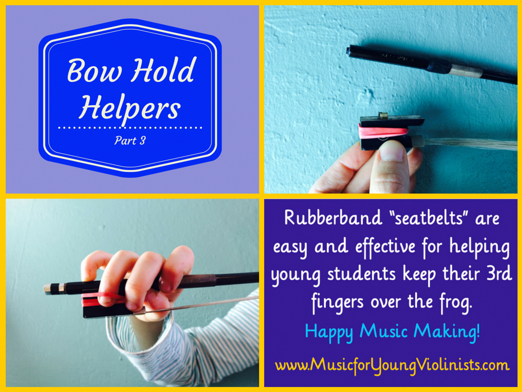Violin Teaching Bow Hold Helper 3 For More Violin