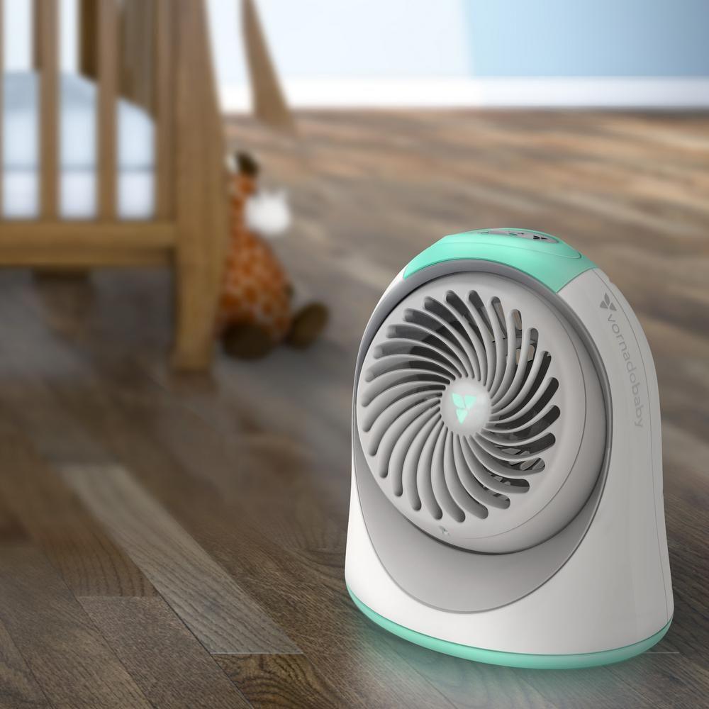 Vornado Breesi 6.7 in. Nursery Portable Air Circulator Fan ...