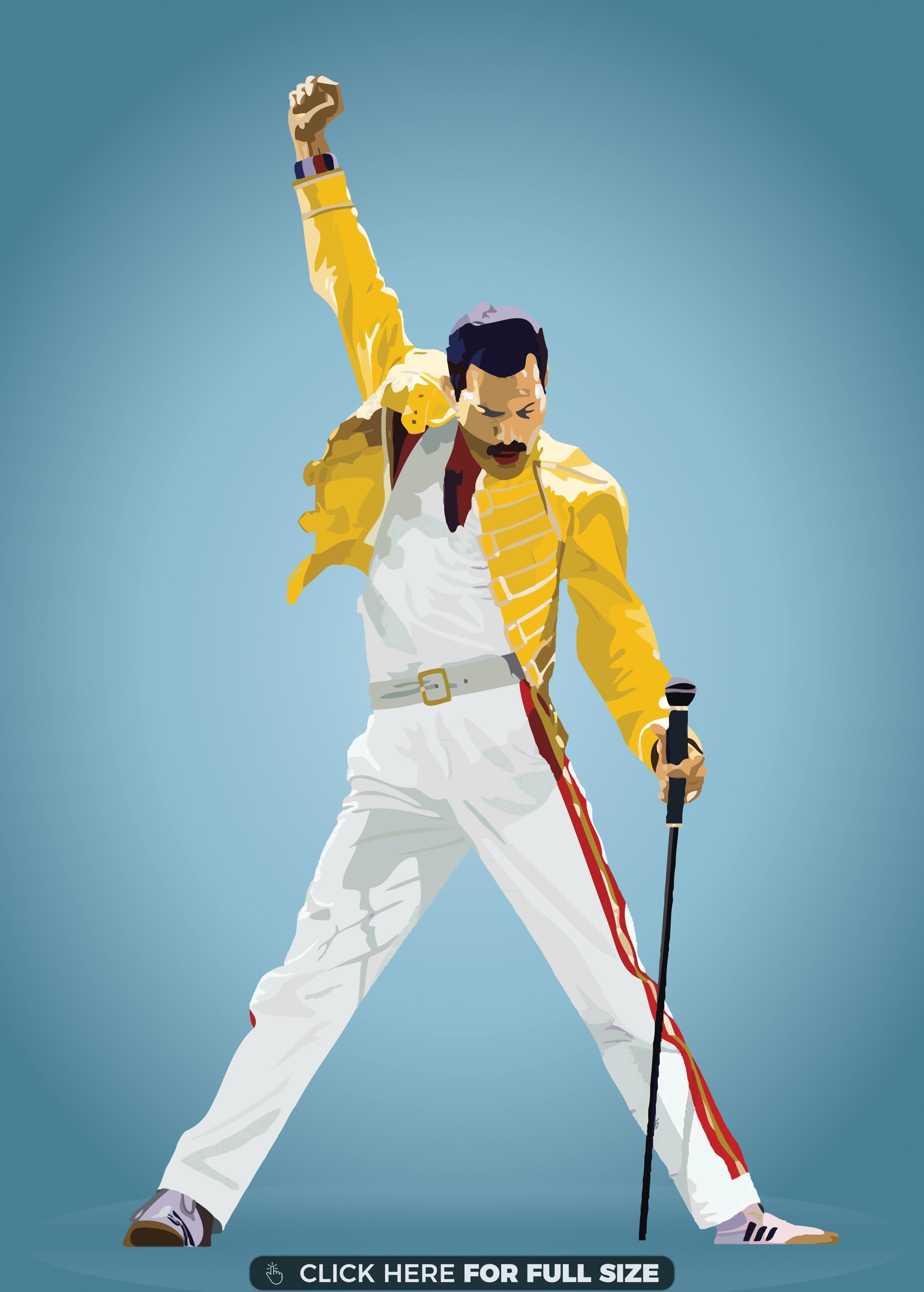 He Is The Champion Freddie Mercury Hd Wallpaper Freddie Mercury Tattoo Freddie Mercury Queen Drawing