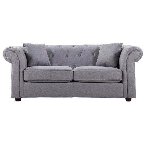 2 Seater Chesterfield Sofa Global Furniture Direct Upholstery Colour Medium Grey Sofa Chesterfield Sofa Global Furniture