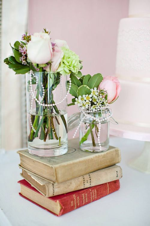 Book worm wedding centerpieces a chic geek wedding pinterest book worm wedding centerpieces junglespirit Image collections