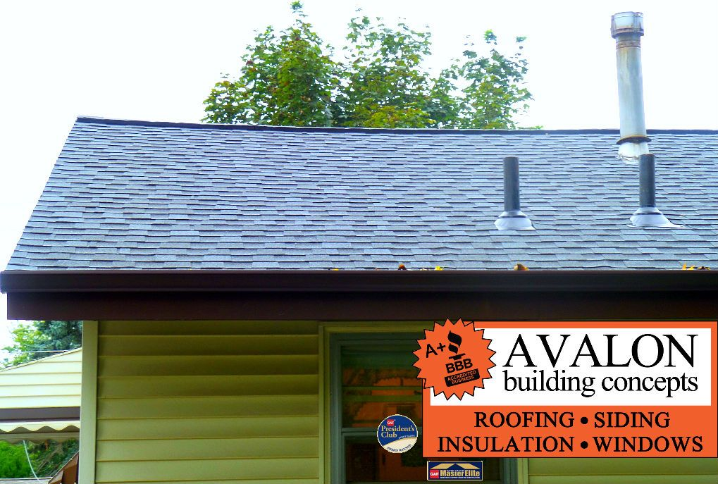 Avalon Replaced The Roof Ad Gutters On Cherokee Ave In Grandville
