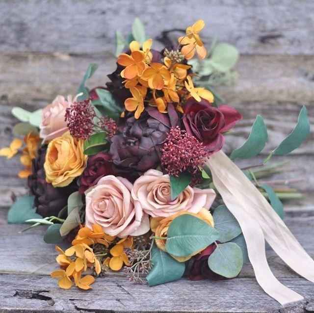 Bouquet Sposa Autunno.Bouquet Sposa Autunno Dai Colori Caldi E Molto Intensi Sceglili