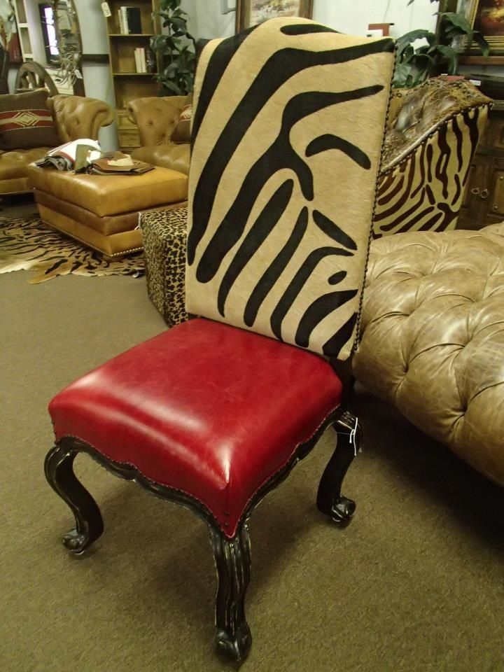 Waller Rustic Furniture. This Would Be Awesome With Leopard!