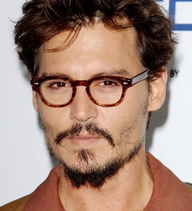 patchy hair styles johnny depp adds drama with a rustic beard hair 8924