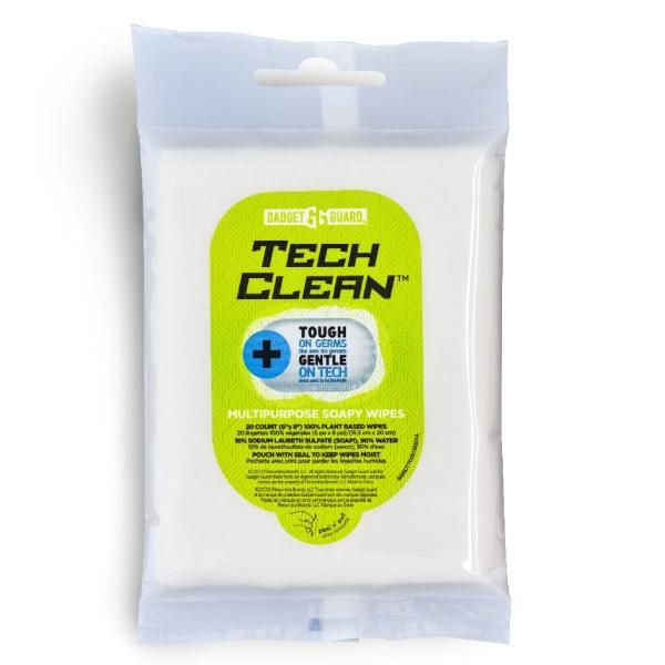 Gadget Guard Multipurpose Soapy Wipes - 20 pack