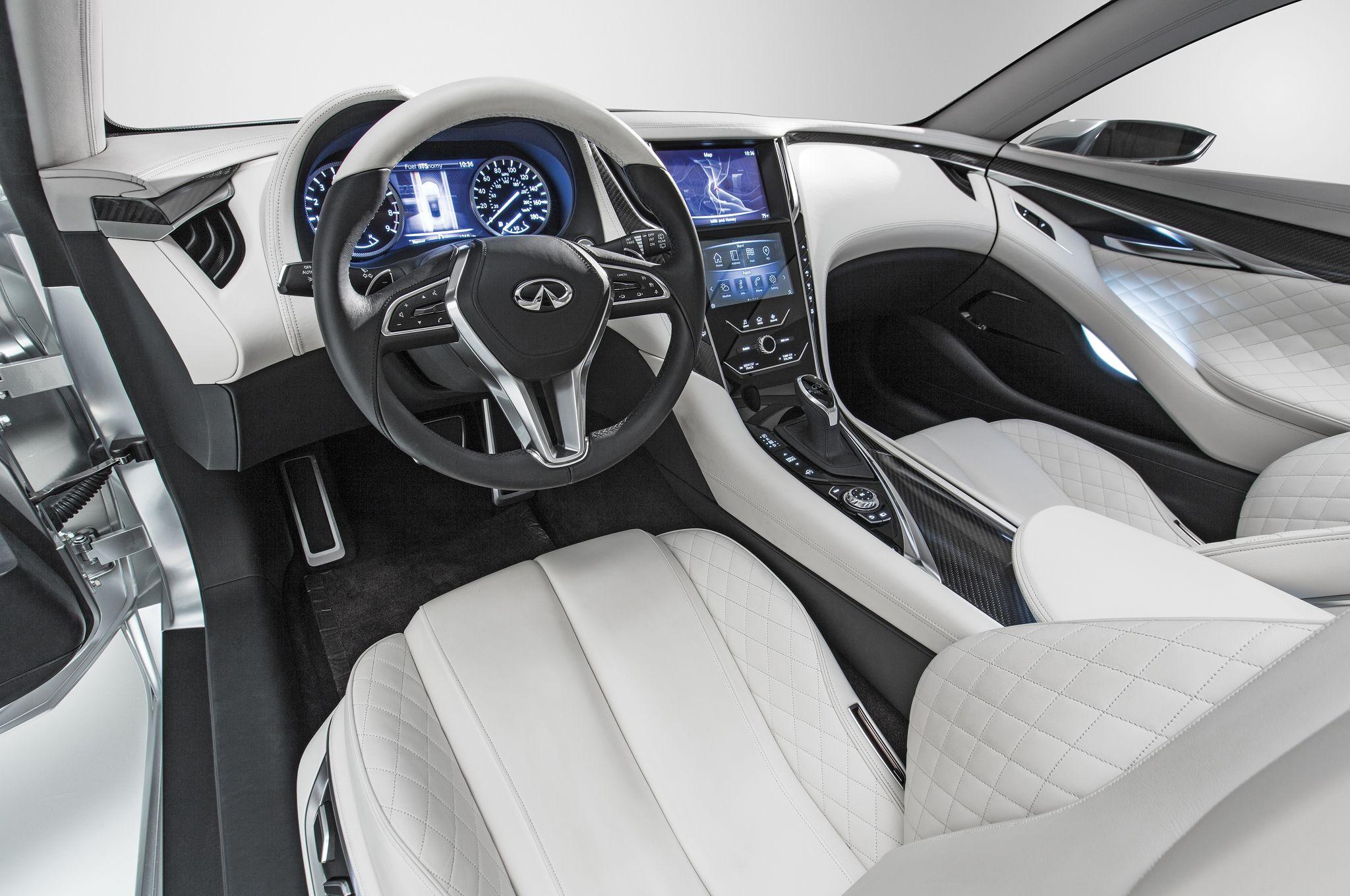 Infiniti Q60 Concept Interior Jpg 2048 1360 Detroit Auto Show Infiniti Coupe