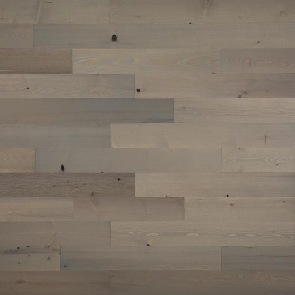 Timberchic 1 8 In X 4 In X 12 42 In Peel And Stick Gray Wooden Decorative Wall Paneling 10 Sq Ft Box 23410 The Home Depot Wood Panel Walls Reclaimed Wood Wall Wall Paneling