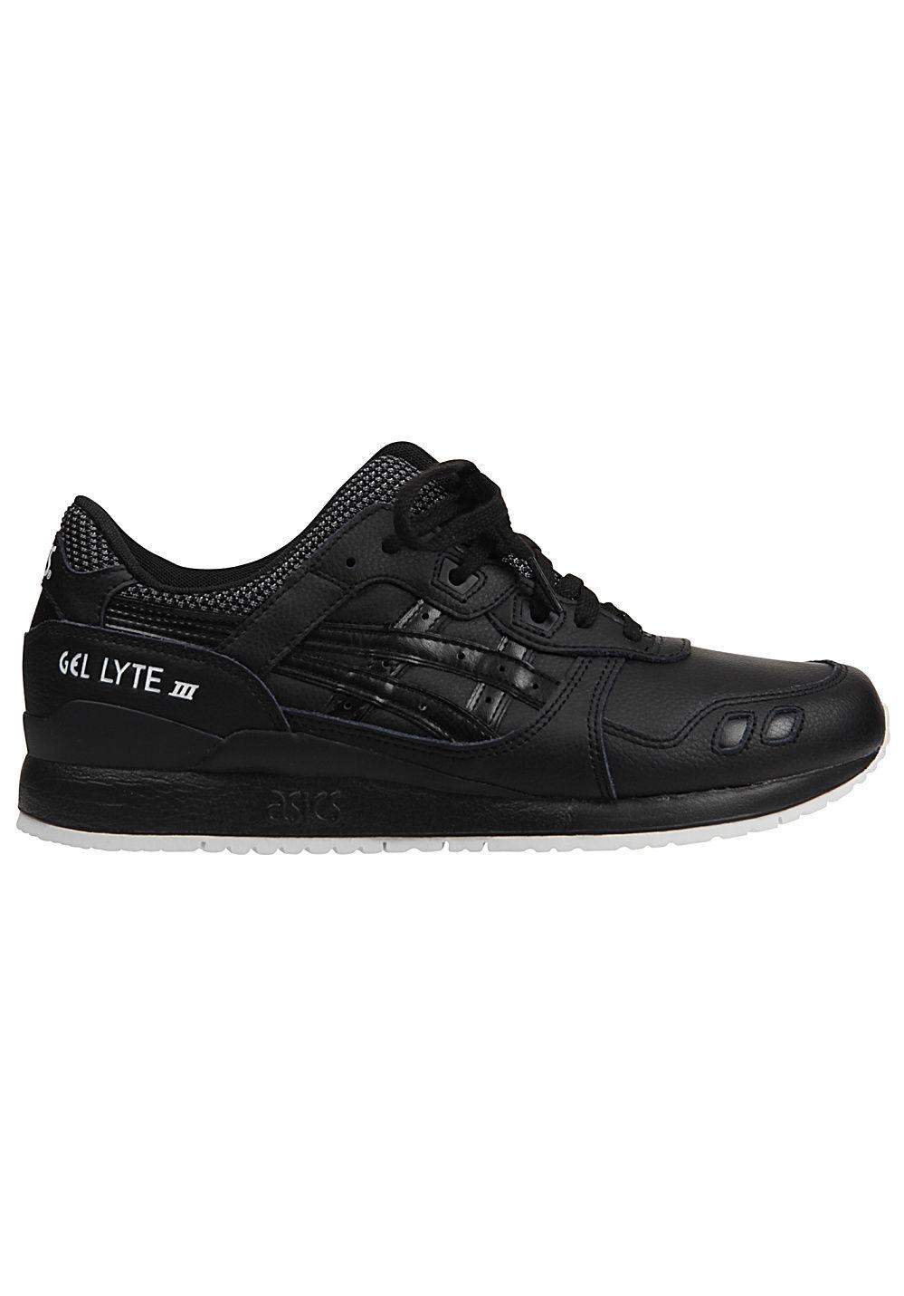100% authentic 4c047 bf7b2 Asics Tiger Gel-Lyte III - Baskets pour Homme - Noir
