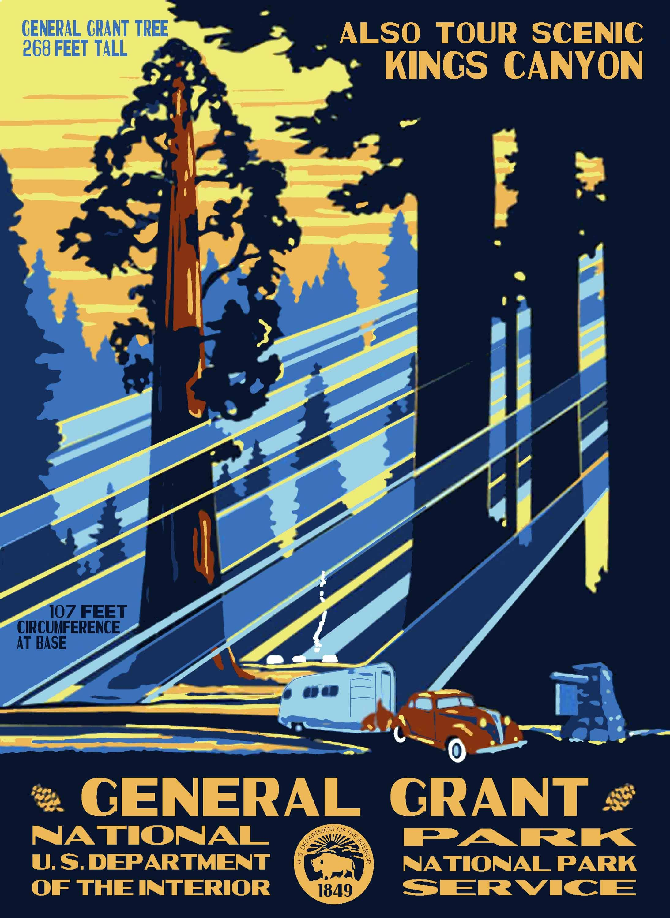 Nps Wpa Posters Signs Labels Vintage National Park