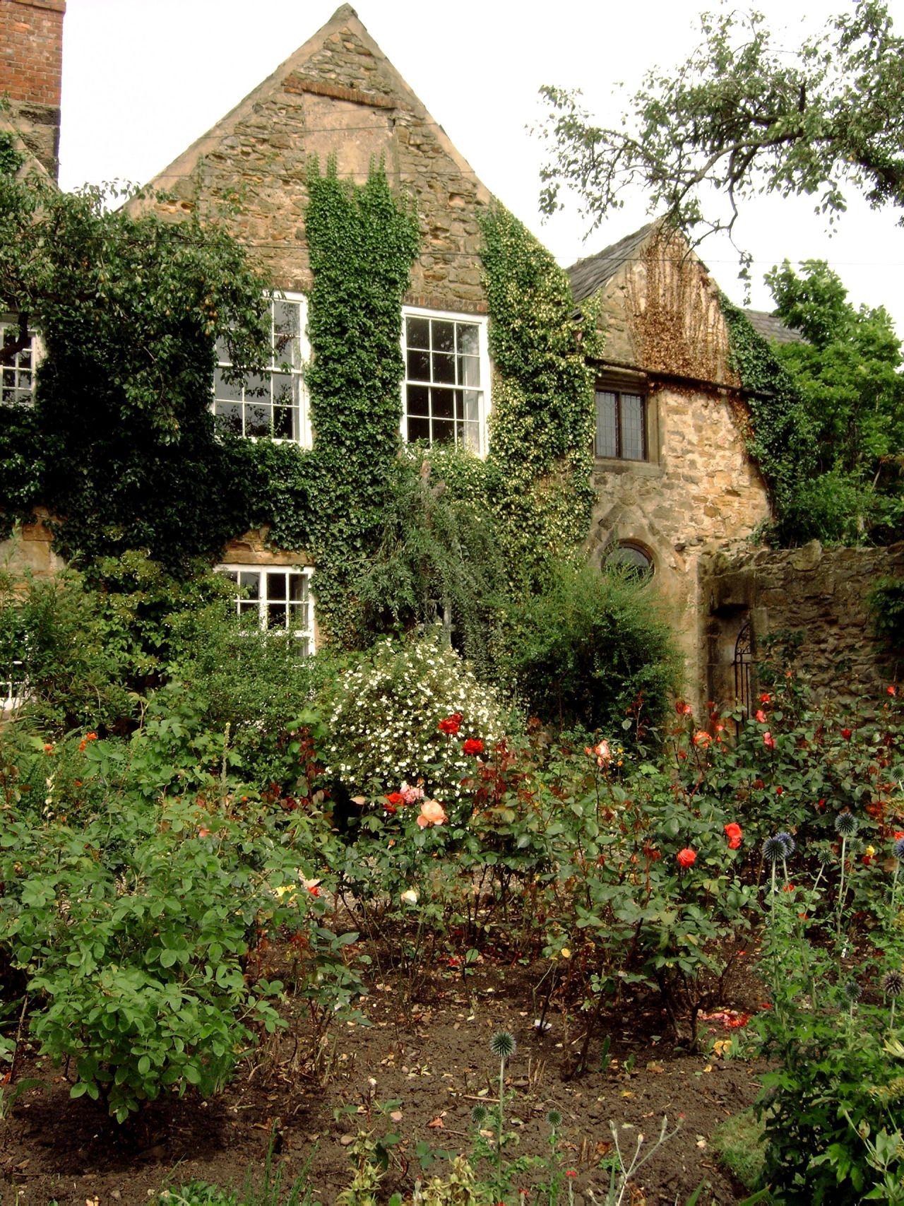 Gardens of Crook Hall, Durham, England