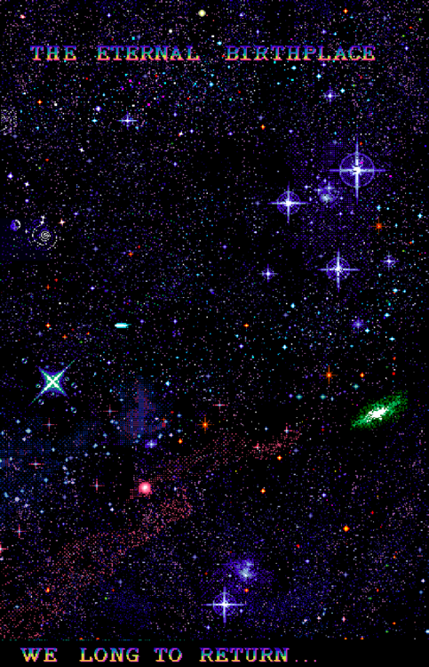 Pastel Pixel Space Aesthetic