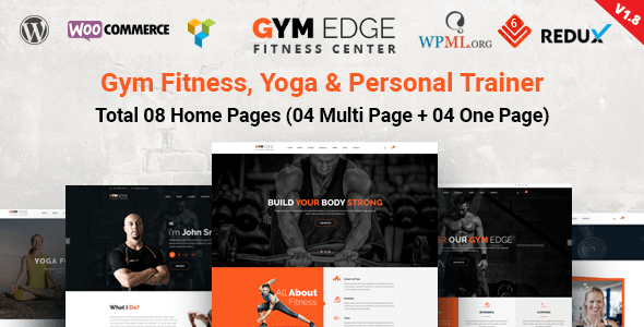Download Gym Edge v2.4 - Gym Fitness WordPress Theme Nulled Latest ...