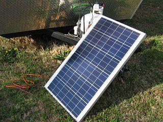 Solar panel set up for a fiberglass rig... sounds kinda easy
