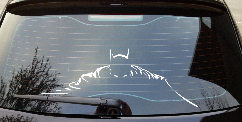 Batman Creeping In The Dark Car Decal Batman Car Batman The Darkest [ 759 x 1500 Pixel ]