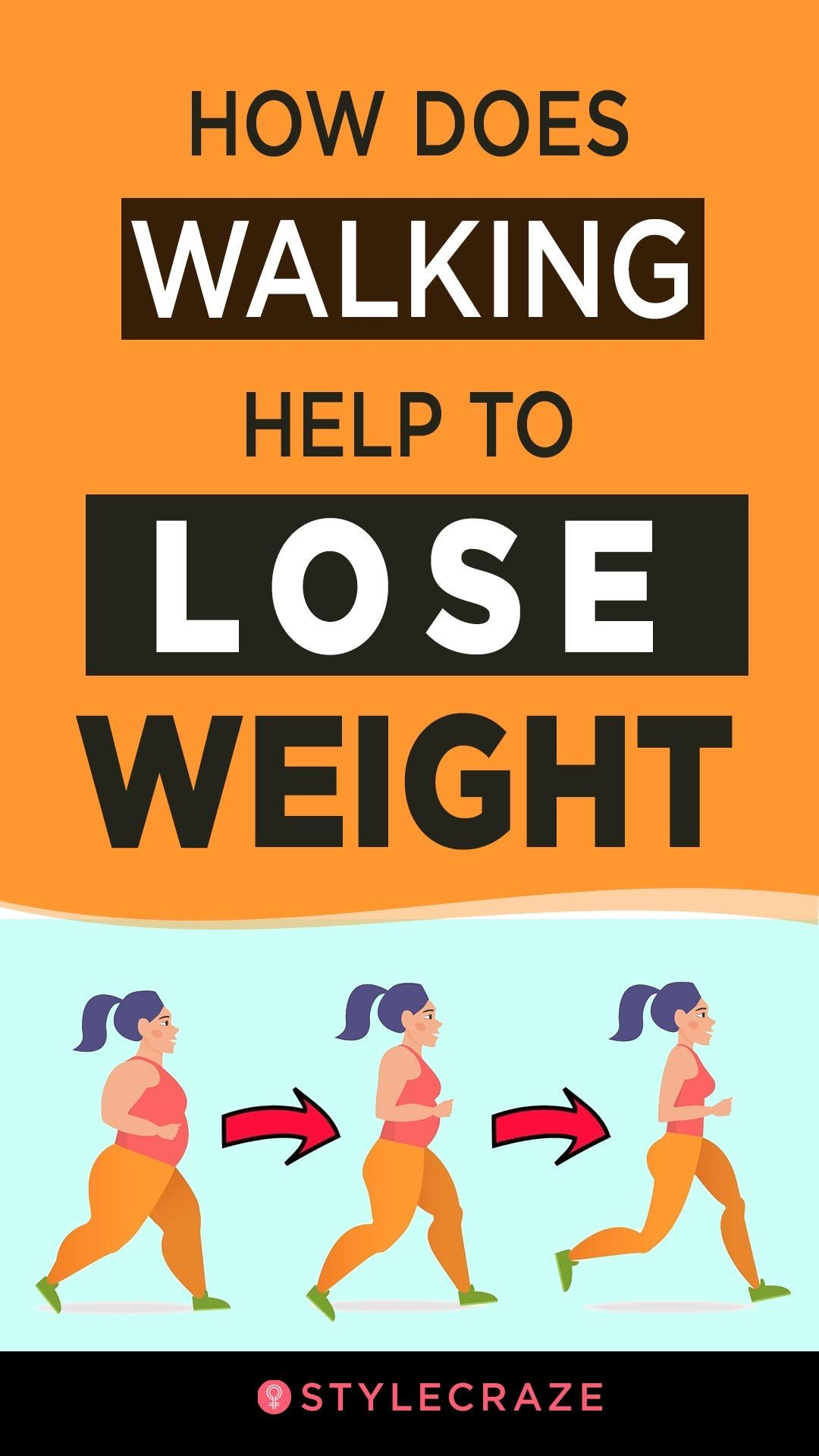 how does walking help to lose weight?   weight loss   pinterest