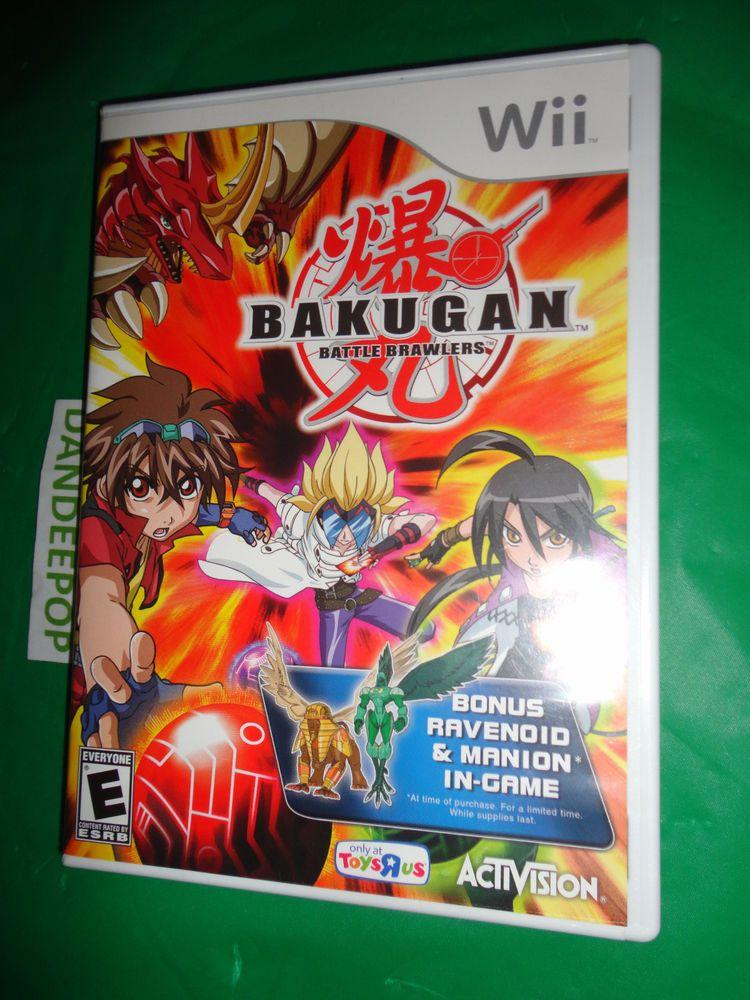 Wii Bakugan Battle Brawlers Video Game Find Me At Www Dandeepop