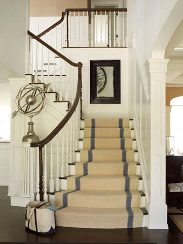 gorgeous stairs! For the Home Pinterest Escalera, Pasillos y