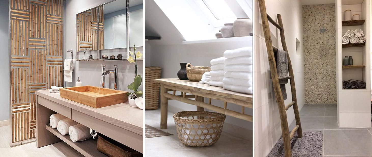 Zo gebruik je hout in de badkamer - Luxaflex - Foto\'s: Homedeco ...