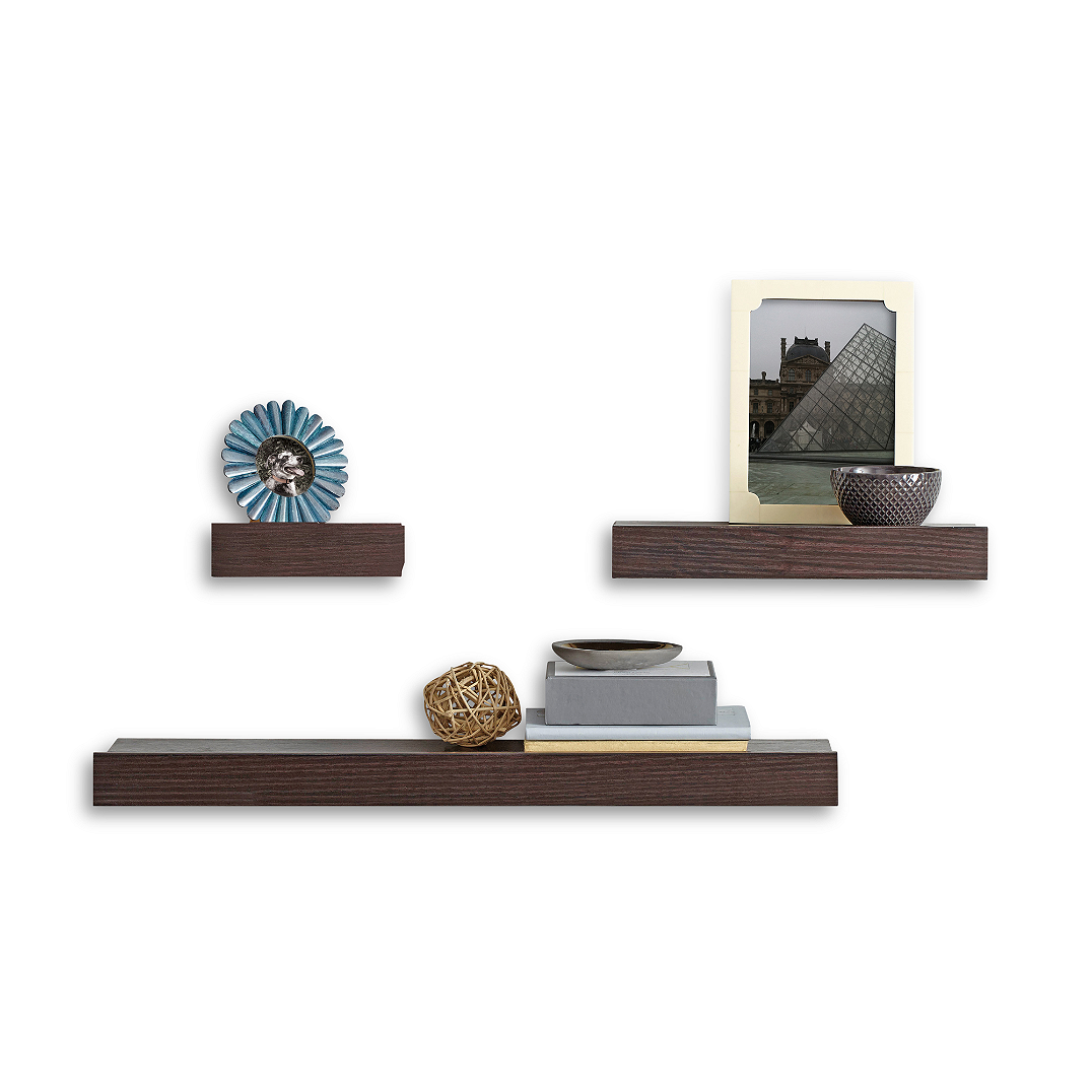Melannco Floating Shelves Classy Floating Shelves Are Easy To Mount And Entirely Customizable For Design Inspiration