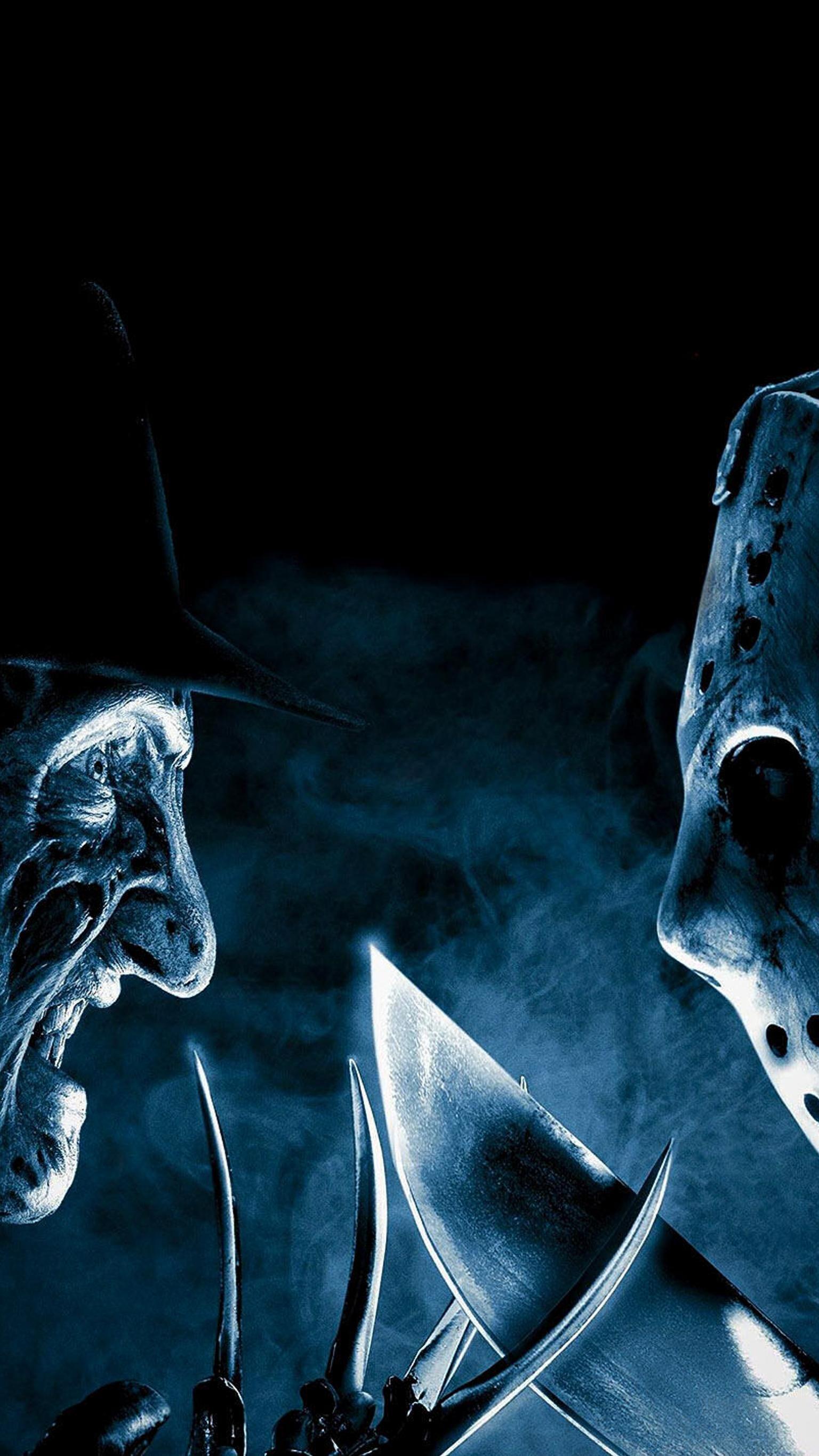 Freddy Vs Jason 2003 Phone Wallpaper In 2020 Scary