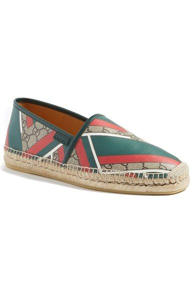 bc80b06c2 GUCCI 'Alejandro' Espadrille (Men). #gucci #shoes # | Gucci Men ...