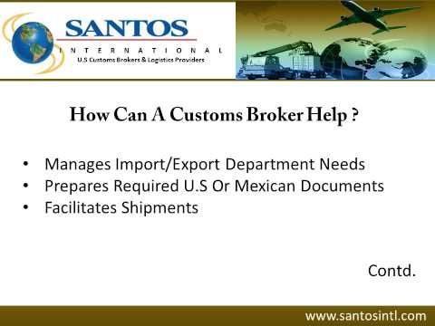 For Complete Customs Brokerage Services In Laredo Texas Consider