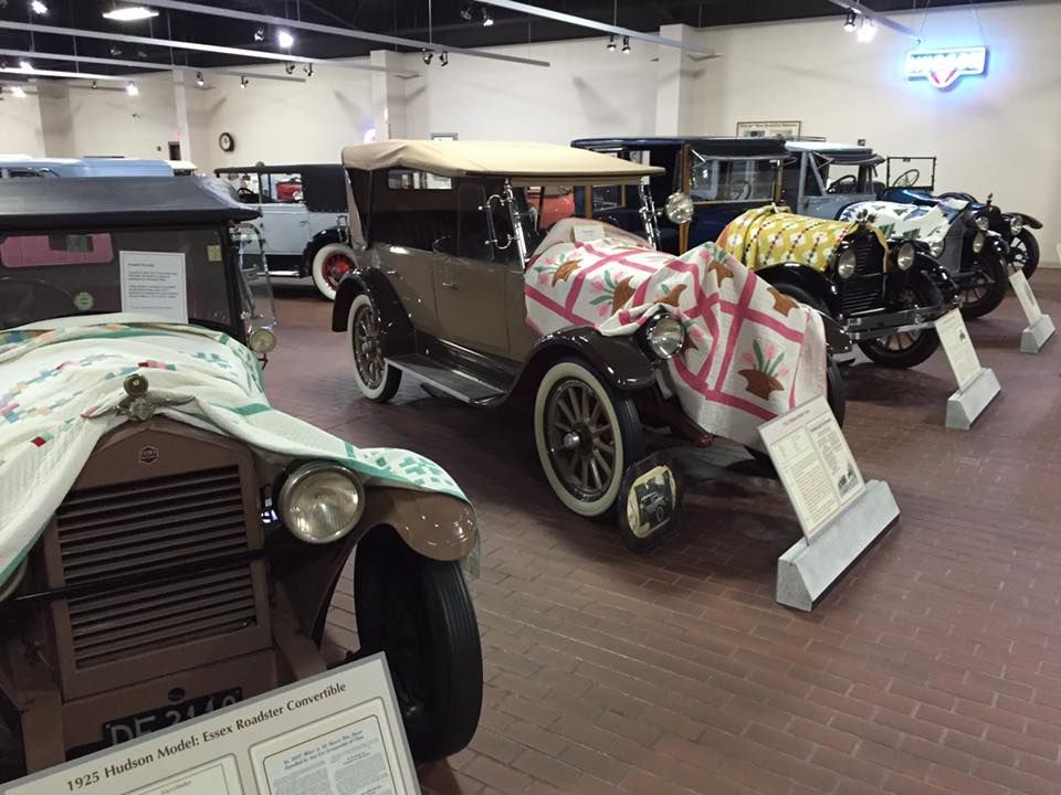 Awesome Exhibition Of Antique Hudson Cars Paired With Quilts At