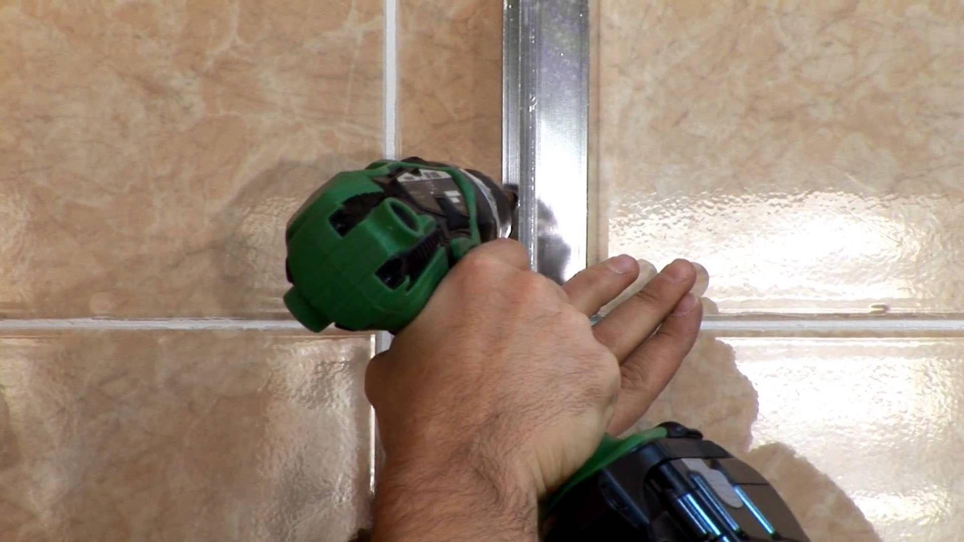 Instalar una mampara para plato de ducha bricor - Instalar una mampara de ducha ...
