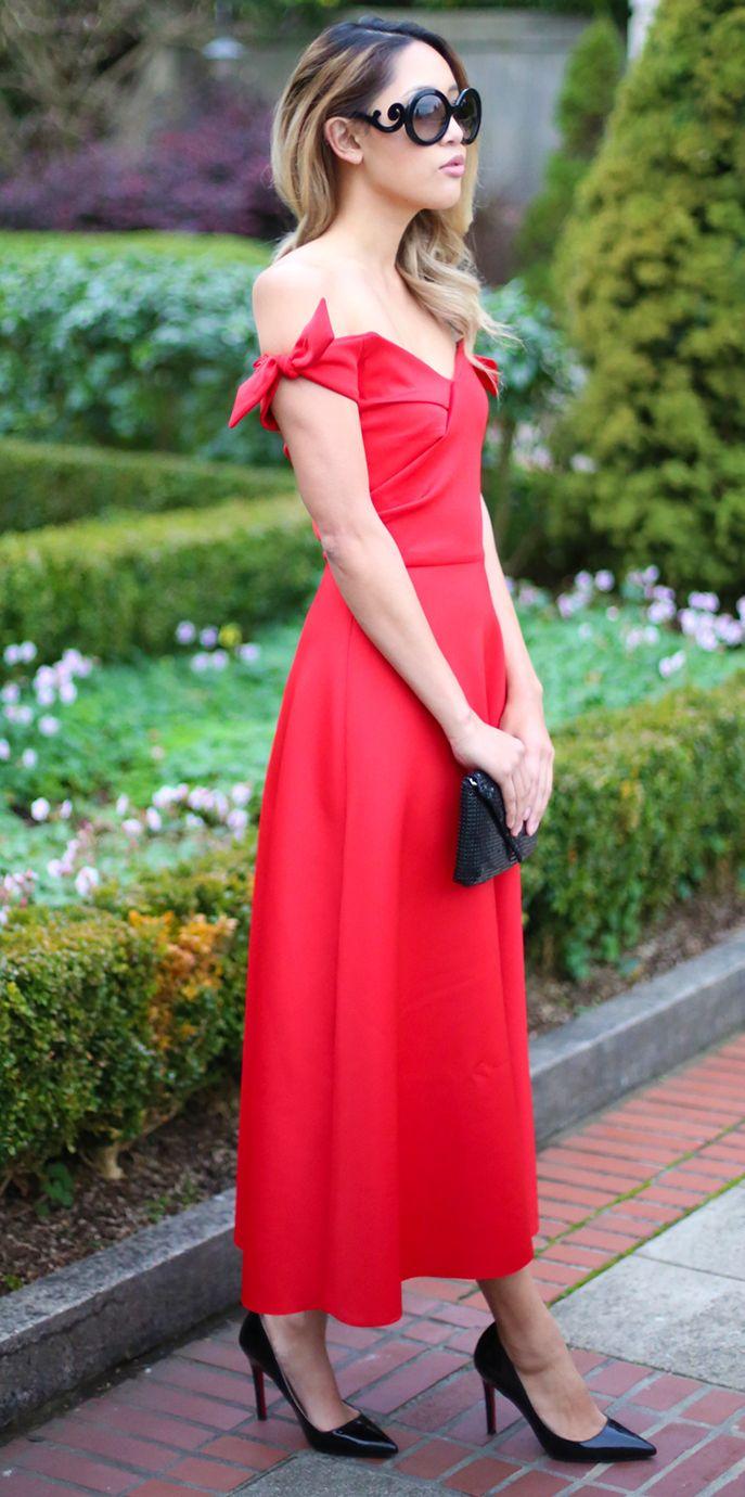 19424f2afca Red dress