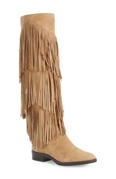 9dc0bad86619 Sam Edelman  Pendra  Fringe Western Boot (Women)