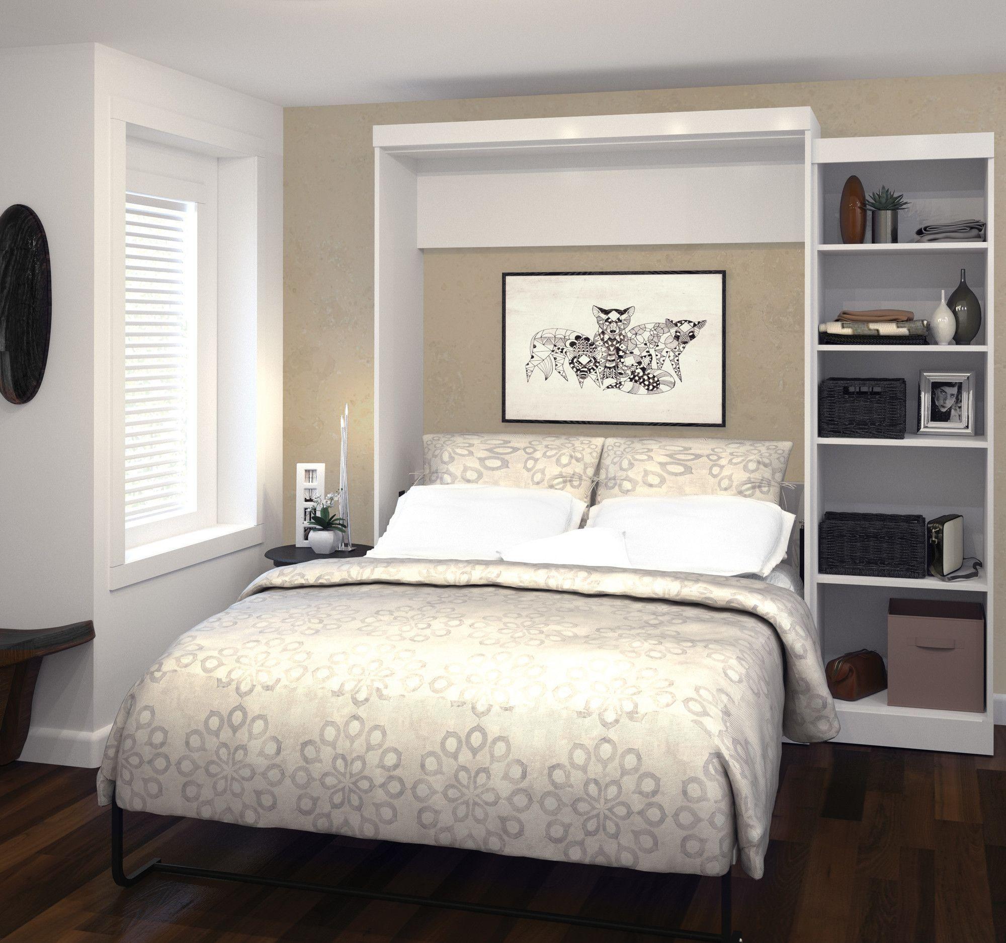Best Navarro Murphy Storage Platform Bed Queen Murphy Bed 640 x 480