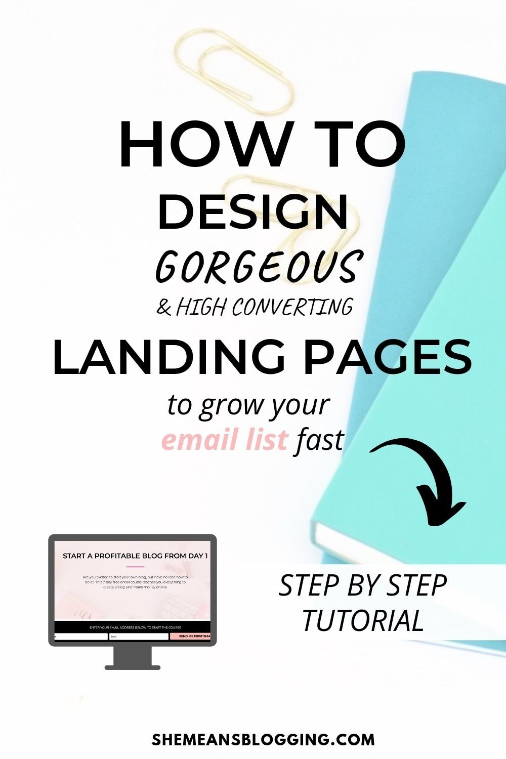 How To Create A Free Landing Page In Wordpress [With All