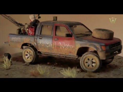 ▶ Tutorial: Meng Model Pick-up Truck by Juan Carlos Carmona | Warfare in Scale - YouTube