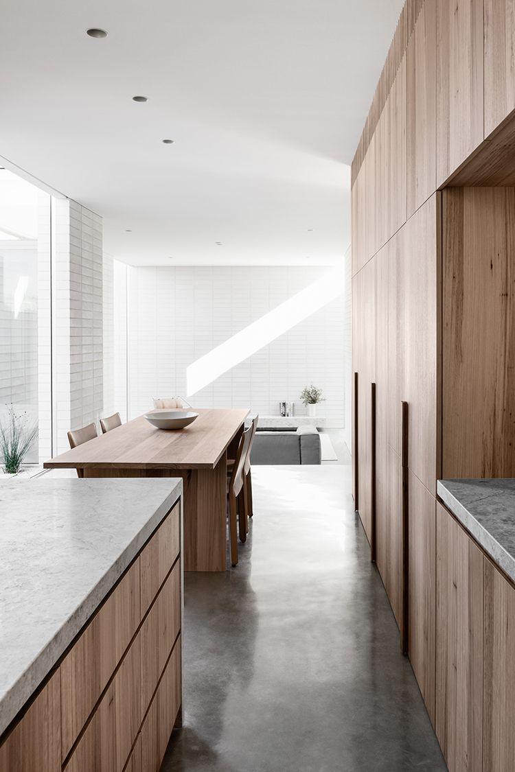 Brutalist Minimalistic Home With White Brick Walls In 2020 With