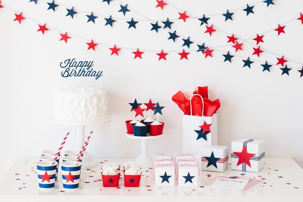 decoraci n para un cumplea os infantil lleno de estrellas