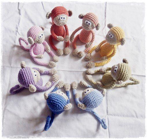 Russische Aapjes Hakennel Pinterest Crochet Animals Monkey