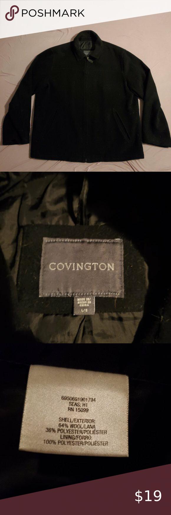 Covington Zip Wool Bomber Insulated Winter Jacket Winter Jackets Covington Jackets [ 1740 x 580 Pixel ]